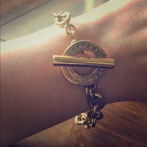 Coach Gold Chain Bracelet